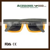 Cheap Colored Shampoo Sunglasses and Adjustable Elastic Hingles with Polarized and Coating Lenses