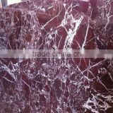 Red marble slab rossa levanto marble floor tiles
