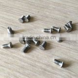 flat head stainless steel small screws