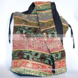 Bohemian Hippie Traditional Multicolor Crossbody Bag Sling Handmade Shoulder Bag Boho Hobo Messenger Bag