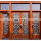 2015 best selling China Grand used wrought iron door gates/cheap wrought iron gates can be custom made