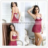 New arrival Plum Babydoll with C string sexy sleepwear picture