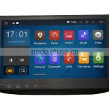 Cheap Black colored 10.2 inch 4x50W Audio Output android dvd gps RK3188 car audio navigation system for Honda CRV