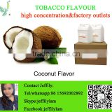 High concentration coconut flavour used in eliquid making,factory direct flaovor for tobacco