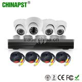 New Arrivals 2016 AHD 4CH DVR Kit CCTV Camera IR Night Vision P2P Dome Security Camera PST-AHDK04A