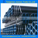 "1/2"" to 14"" ASTM A106B/A53B Carbon Seamless Schedule 80 Black Steel Pipe In Large Stock"