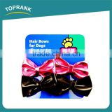 Professional Manufacturer Lovely New Design Dog Hair Bow Clip Hair Accessories Wholesale
