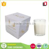 China suppliers wholesale square diwali decorative custom paper luxury candle box design with lids