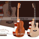INQUIRY ABOUT 41inch the best quality handmade acoustic guitar with fishman pickup ISY-601, guitar bag (W-972SS-EQ)