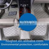 Allrounded PVC leather floor mats car universal