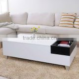 Modern Coffee Table with Serving Tray