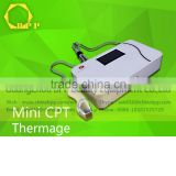 Mini Fractional rf face lift cpt/thermagic machine for face wrinkle remover and slimming