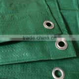 HDPE woven laminated with aluminum foil plastic raw material storage agriculture tarpaulin