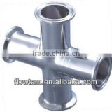sanitary stainless steel clamp cross