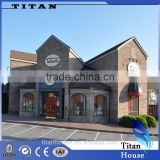 More Than 70 Years Light Steel Frame Fabricated Shop House