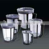 plastic flexible paint mixing cup with holder