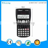 2016 high quality credit card size calculator and correct function colorful electronic calculator