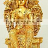 Sculpture art home decoration resin buddha statue for sale