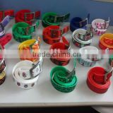 eco-friendly colorful Silicon Waist Belt for girl