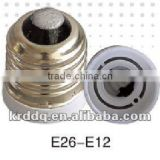 e26 to e12 lightning lamp fitting adapter