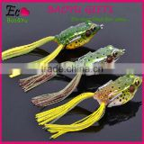 Model LYO3 Frog super soft Lures 55mm 14g floating fishing bait