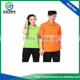 Wholesale high quality 100% Cotton Pique Couple Brand Polo T Shirts