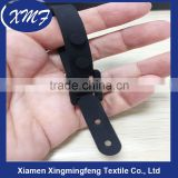 Adjustable soft silicone rubber cable tie for tie tidy