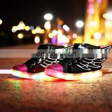 Wholesale hot Led light up kids shoes Children kids led shoes USB rechargeable LED luminous light shoes sneakers for kids