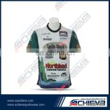 100% polyester soccer shirts crew neck fitness dry fit sublimation cheap custom soccer shirt uniform