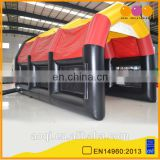 AOQI best design most popular inflatable football game indoor inflatable soccor game equipment for promotion