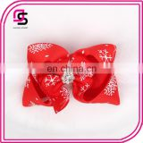 Cute fashion design baby headband christmas cloth baby hairpin