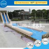 Plato used swimming pool children slide inflatable water floating playground China factory