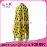 Women digital printing modal beach scarf sarong in summer