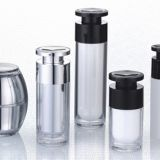 aluminum airless bottle cosmetic bottle