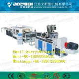 Plastic roof plate machine