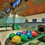Bowling Ball Return Steel Glow Plastic & Metal