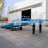 7LYQ Shandong SevenLift 10 ton heavy duty adjustable hydraulic forklift mobile container loading ramp