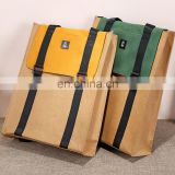 Hot selling kraft paper Travel Bag Outdoor Laptop bag New design Backpack
