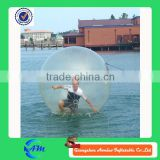 China factory giant ball inflatable water, water splash ball toy, water tank float ball valve