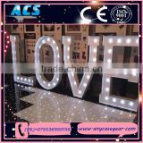 ACS giant illuminated love letter&wedding light up love sign