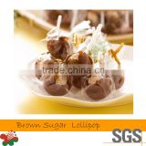 Taiwan Made Candy Brown Sugar Lollipop Candy