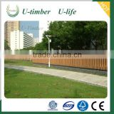 Water resistance no rotting WPC partition panels for garden