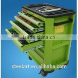 workshop dedicated metal strong tool cabinet with wheel and tools                                                                         Quality Choice