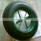 wheelbarrow solid rubber wheel, solid rubber wheel for wheel barrow