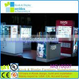 Pop sunglass display with lock modern design watch display free design led sunglass display rack