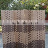 wholesale paper handmade woven folding screen room partition separator                                                                         Quality Choice