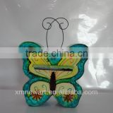 2014 cute factory metal garden decorations dragonfly ornaments