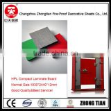 hpl compact laminate toilet partition board HPL laminate waterproof melamine laminate sheet