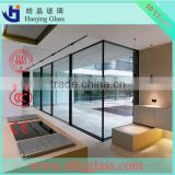 Customized size Clear/Tinted Glass8mm laminated architectural glass price/Tempered Glass(Flat/Curve)