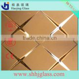 4.8mm 5mm marble glass mirror glass decorative mirror
